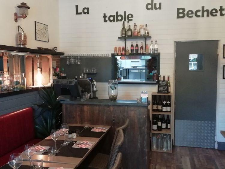 LA TABLE DU BÉCHET-Saint-Briac-Intérieur