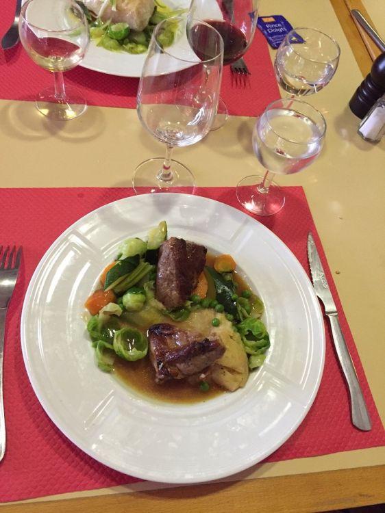 Restaurant-golf-Tremereuc-viande