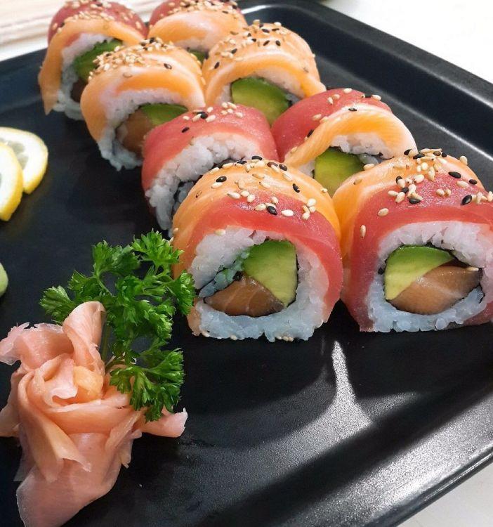 Thaï et sushi