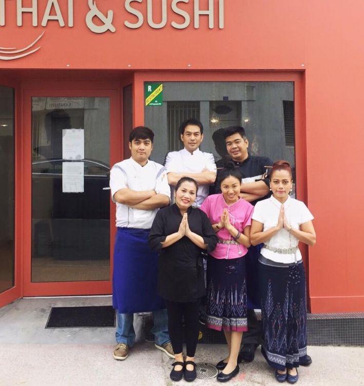 Thai-Sushi-Dinard-equipe-brochure
