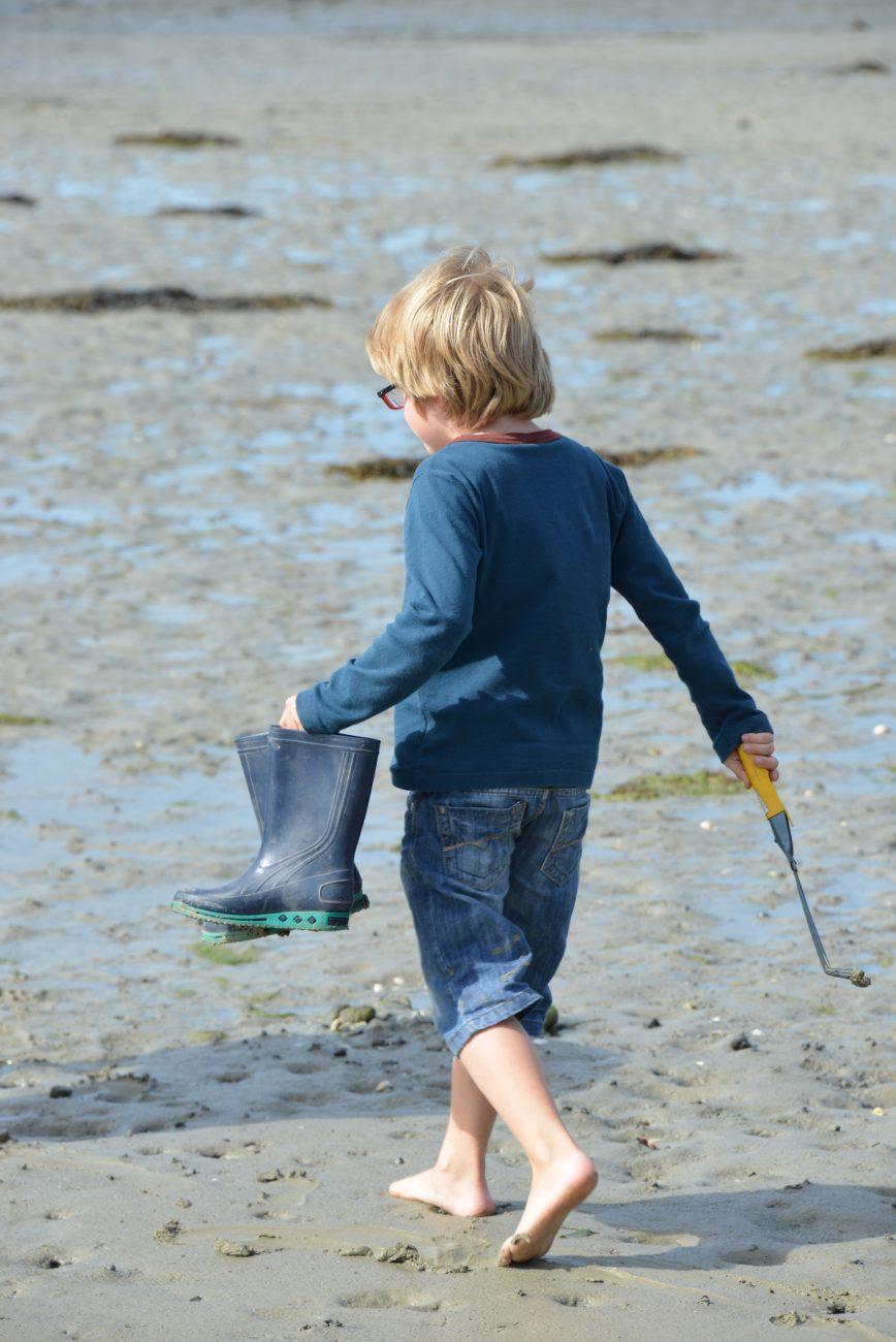 Pêche à Pied Sur La Côte D'Émeraude (1)