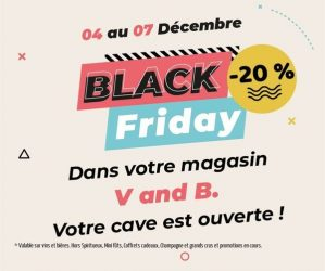 Black Friday chez V and B Pleurtuit