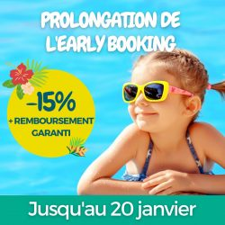 Early Booking au Camping Émeraude