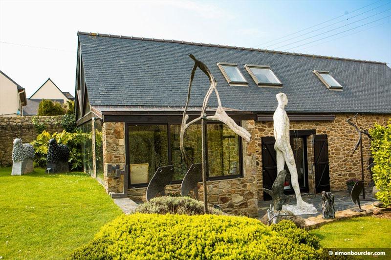 Manoli Musée Et Jardin De Sculptures à La Richardais