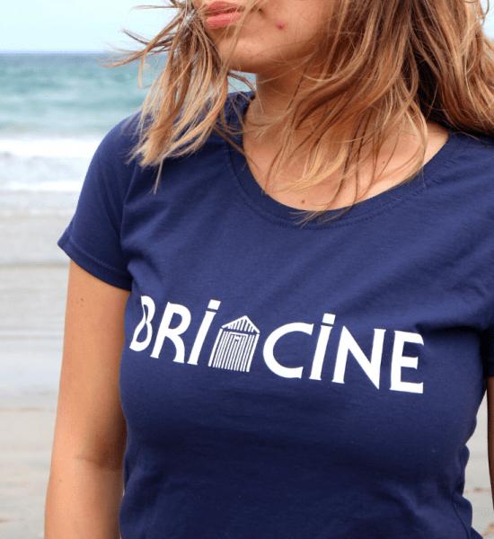 Tee Shirt Femme Manches Courtes Briacine